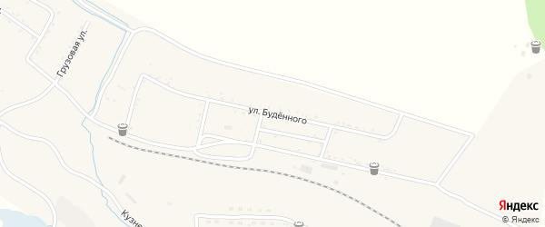 Улица Буденного на карте Райчихинска с номерами домов