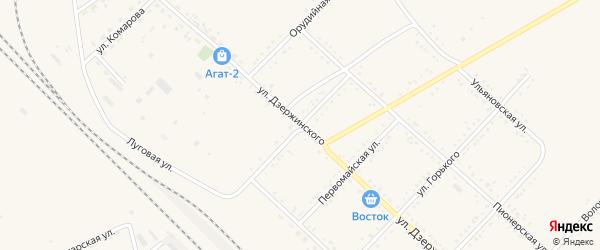 Улица Угрюмова на карте Завитинска с номерами домов