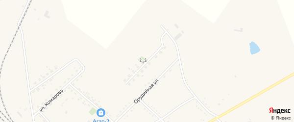 Строительный переулок на карте Завитинска с номерами домов