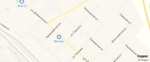 Улица М.Горького на карте Завитинска с номерами домов