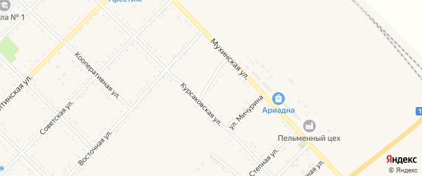 Улица Матросова на карте Завитинска с номерами домов