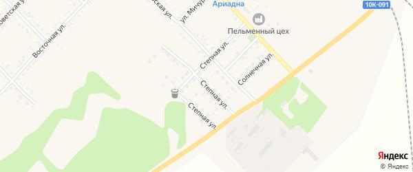 Степная улица на карте Завитинска с номерами домов