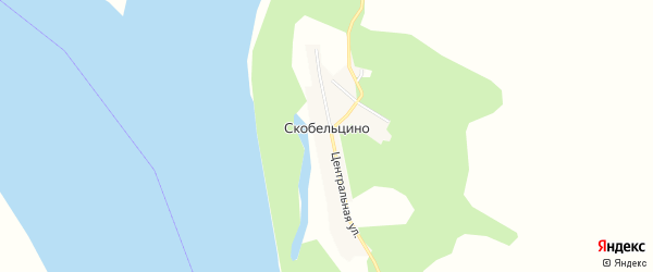 Карта села Скобельцино в Амурской области с улицами и номерами домов