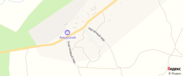 Почтовый переулок на карте поселка Прогресса с номерами домов