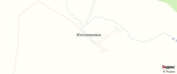 Карта села Житомировки в Амурской области с улицами и номерами домов