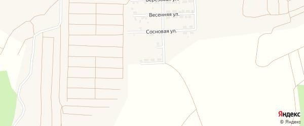 Улица Энергетиков на карте поселка Прогресса с номерами домов
