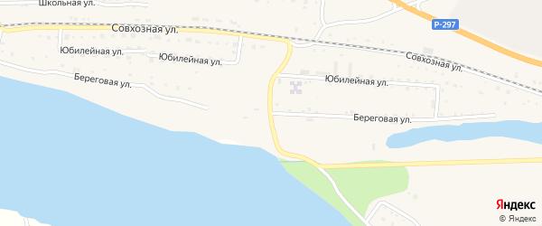 Береговая улица на карте села Николаевки с номерами домов