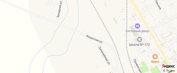 Амурская улица на карте поселка Архары с номерами домов