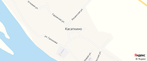 Улица Подстанция на карте села Касаткино с номерами домов