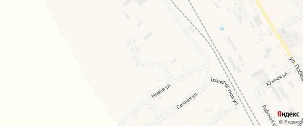 Низинная улица на карте поселка Архары с номерами домов