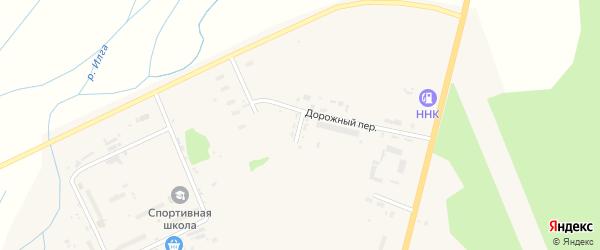 Автомобильная улица на карте поселка Архары с номерами домов