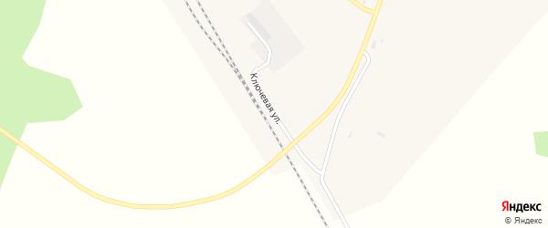 Ключевая улица на карте поселка Архары с номерами домов