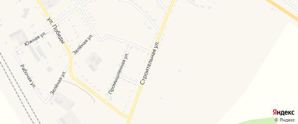 Строительная улица на карте поселка Архары с номерами домов