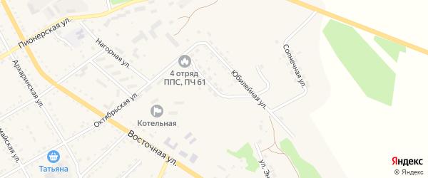 Молодежная улица на карте поселка Архары с номерами домов