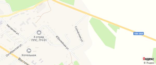 Солнечная улица на карте поселка Архары с номерами домов