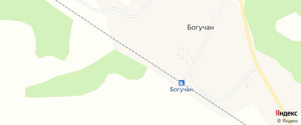 Новая улица на карте станции Богучана с номерами домов
