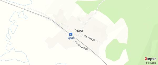 Карта села Урила в Амурской области с улицами и номерами домов