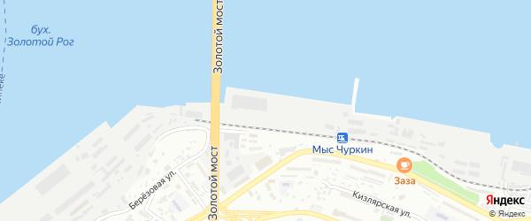Строение Причал 44 на карте Владивостока с номерами домов