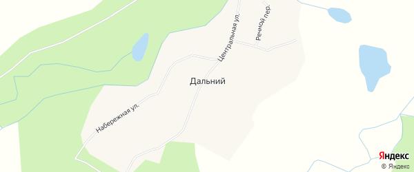 Карта Дальнего поселка в Чукотском автономном округе с улицами и номерами домов