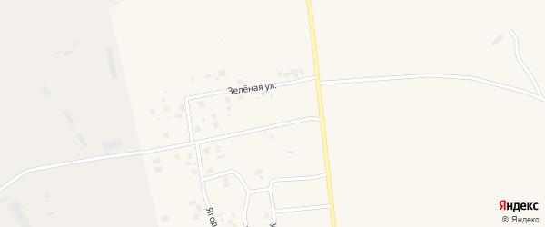 Зеленая улица на карте Билибино с номерами домов