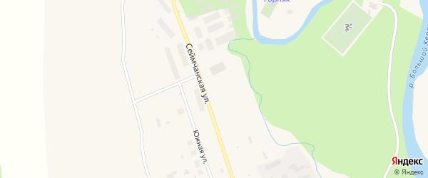 Сеймчанская улица на карте Билибино с номерами домов