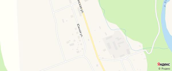 Южная улица на карте Билибино с номерами домов