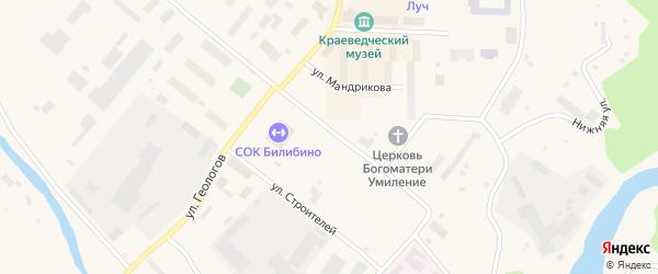 Улица 30 лет Советской Чукотки на карте Билибино с номерами домов