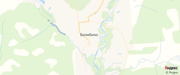Карта Билибино с районами, улицами и номерами домов