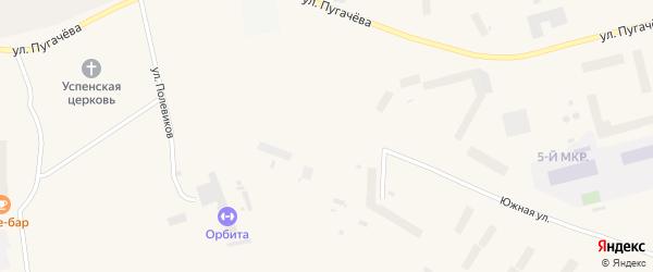 Улица Мир а/с на карте Певека с номерами домов
