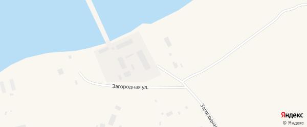 Загородная улица на карте Певека с номерами домов