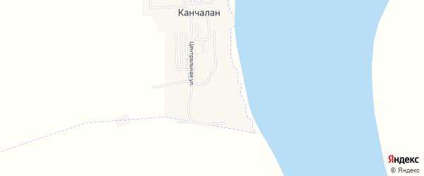 Карта села Канчалана в Чукотском автономном округе с улицами и номерами домов