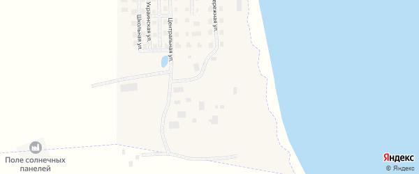 Тундровая улица на карте села Канчалана с номерами домов