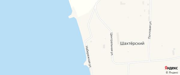 Набережная улица на карте Угольные Копи 2-й поселка с номерами домов