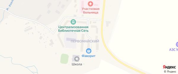 Молодежная улица на карте поселка Угольные Копи с номерами домов
