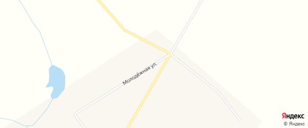 Молодежная улица на карте Ленинградского поселка с номерами домов