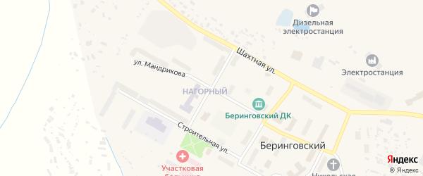 Улица Ревкома Чукотки на карте Угольные Копи 4-й поселка с номерами домов