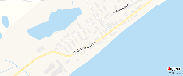 Строительная улица на карте Беринговского поселка с номерами домов