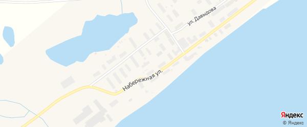 Улица Давыдова на карте Беринговского поселка с номерами домов