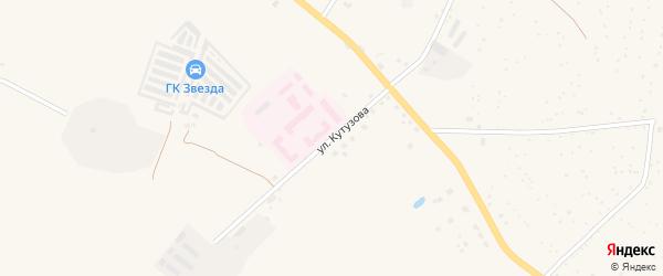 Улица Кутузова на карте Советска с номерами домов