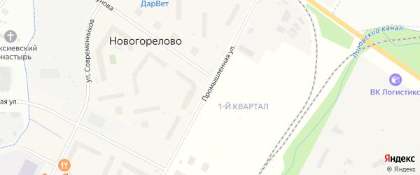 Промышленная улица на карте садового некоммерческого товарищества Коммунальника 2 с номерами домов