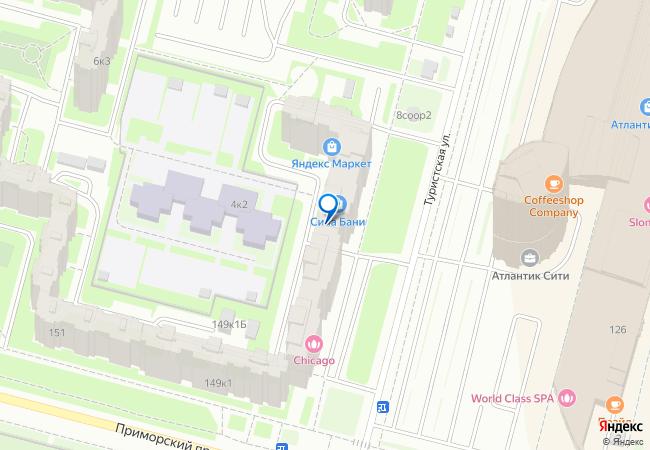 туристская улица 4к1 на карте санкт петербурга организации фото