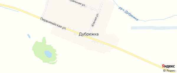 Школьная улица на карте поселка Дубрежки с номерами домов