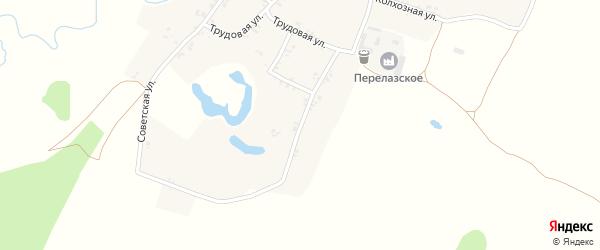 Кузнечный переулок на карте села Летяхи с номерами домов