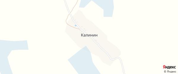 Улица Калинина на карте поселка Калинина с номерами домов