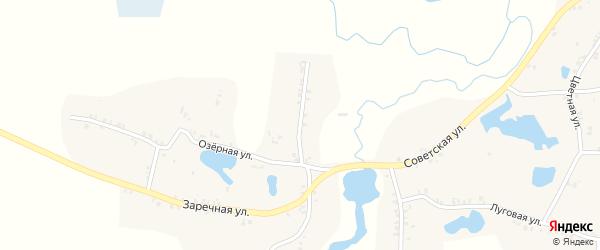 Садовая улица на карте села Перелазов с номерами домов