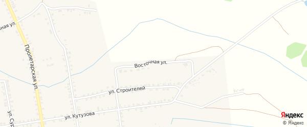 Восточная улица на карте Демидова с номерами домов