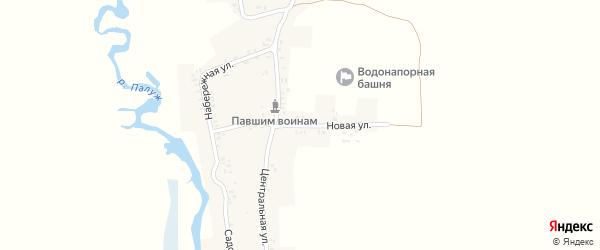 Садовая улица на карте деревни Кибирщины с номерами домов