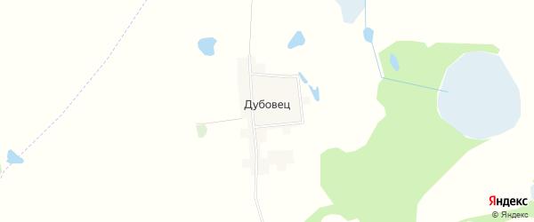 Карта поселка Дубовца в Брянской области с улицами и номерами домов