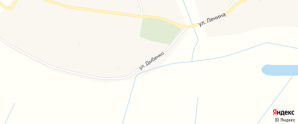 Улица Дыбенко на карте села Старого Вышкова с номерами домов