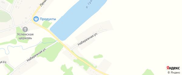 Набережная улица на карте села Лысые с номерами домов
